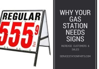why your gas station needs signs