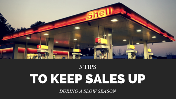 5 tips to keep sales up during a slow season